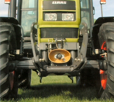 Claas Front Linkage And Front Pto Gt