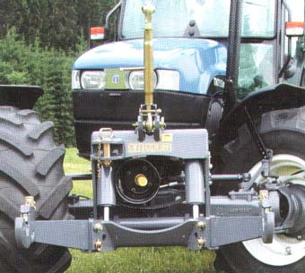 New Holland Front linkage and front PTO